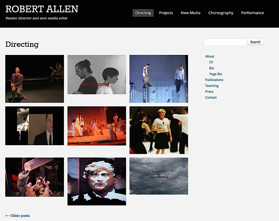 Robert Allen website